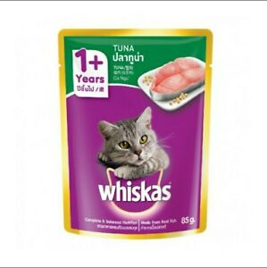 [READY STOCK] Whiskas Cat Wet Food Pouch 85G Flavours