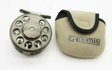 A13) Excellent G-Loomis East Fork 3-4 Fly Fishing Reel With Case