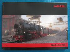"""Märklin H0 / Spur Z + I Märklin Neuheiten-Katalog 2011 Deutsch """"NEU"""" 180 Seiten"""