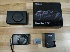 Canon PowerShot G7 X 20.2MP Digital Camera - Black (with 24-100 mm Lens)