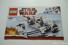 LEGO Notice Instruction / 8084 Snowtrooper Battle Pack