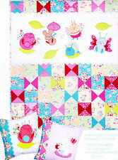 SALE - Don't Bug Me - fun applique & pieced child's quilt PATTERN - Red Brolly