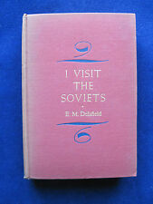 E.M. Delafield's I Visit the Soviets - Actor RANDOLPH SCOTT's Copy SIGNED by Him