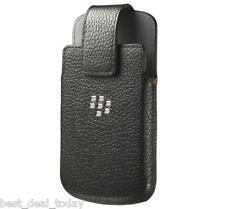 OEM Blackberry Leather Swivel Holster Pouch Case For Q10 BB Q-10 BB10