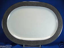 BLOCK CHINA SPAL MIDNIGHT LARGE OVAL PLATTER UNUSED