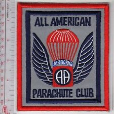 Airborne US Army 82nd Airborne Division Sport Parachute Club All American Ft Bra