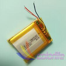 Battery Rechangeable 3.7v 362937 350mAh for Smartwatch Handset Bluetooth GPS