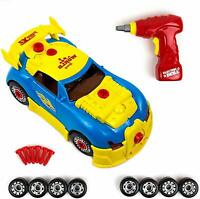 Take Apart Toy Racing Car Kit for Kids - 30 Pieces with Engine Sounds Kids Gifts