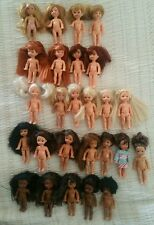 Barbie Lot of 26 Kelly Dolls Tommy Ethnic Black Brunette Hispanic Blonde Ooak