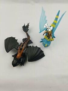 How to train your dragon DWALLC 2014 blue 2018 black action figures
