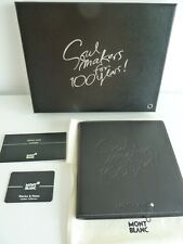 Montblanc Soulmakers 100 Years Germany Exclusive Notizmappe !