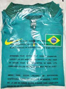 Nike Sponsored Brazil Brasil Tokyo Olympics 3/4 Zip Track Pullover Sz M Women