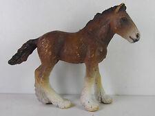 p110- Schleich Pferd- 13272 - Shire Fohlen / foal