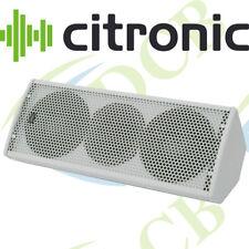 "CITRONIC CX-1608 WHITE SPEAKERS 2 X 6.5"" 160W FULL RANGE 2-WAY ENCLOSURE SET"