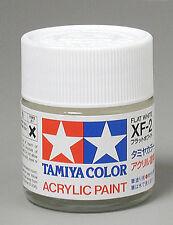 Tamiya XF2 Flat White 3/4 oz Acrylic Paint Jar 81302 TAM81302