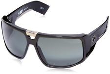 Authentic Spy Optic Touring Sunglasses Shiny Black /Grey *NEW* 64 mm