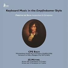 C.P.E. Bach: Keyboard Music in the Empfindsamer Style, New Music