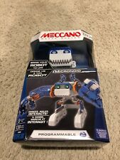 MECCANO TECH MAKER SYSTEM MICRONOID BLUE BASHER ROBOT - BRAND NEW IN BOX