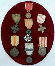 Group Medals VERDUN 1916 LEGION OF HONOUR 1914-1918 WWI CROSS GUERRE DIPLOMA