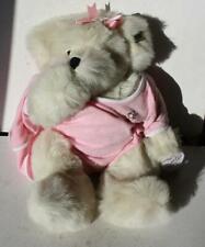 Annette Funicello Teddy Bear Bedtime Buddy Bear Sucking Thumb w-Pink Blanket