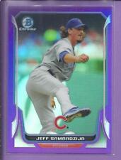 *2014 Bowman Chrome  Purple-Refactor  JEFF SAMARDZIJA no.84 Cubs /150