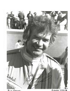Autographed Rick Ferkel Sprint Car Racing Photograph