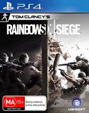 Tom Clancys Rainbow Six Siege PS4 Game NEW