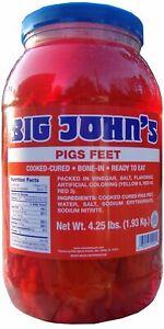 Big John's Pickled Pigs Feet by Big John's