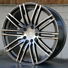"20"" A SET OF 4 WHEELS 5X130 FIT PORSCHE CAYENNE GTS TURBO S PANAMERA VW TOUAREG"
