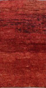 Contemporary Solid Moroccan Oriental Area Rug Handmade Plush Wool Carpet 6'x10'