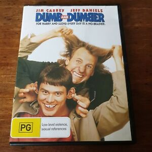 Dumb and Dumber DVD R4 Like New! FREE POST