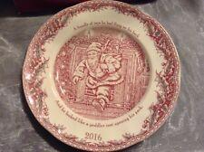 Johnson Brothers Christmas Plate 2016