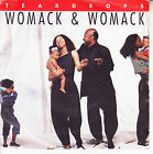 "WOMACK & WOMACK Teardrops PICTURE SLEEVE 7"" 45 rpm record + juke box strip"