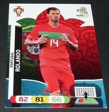 ROLANDO PORTUGAL FOOTBALL CARD PANINI UEFA EURO 2012