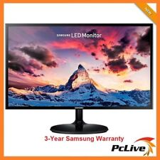 "27"" Samsung S27F350FHE FULL HD PLS LED Monitor HDMI 1080p Wide Screen VGA VESA"