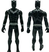 """Marvel Black Panther 12"""" Inch Action Figure Hasbro 2017 Silver Pose Bend Move"""