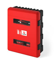 DAKEN DUAL Double Fire Extinguisher Box / Cabinet. For 6-9kg Fire Extinguishers