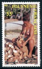 STAMP / TIMBRE POLYNESIE N° 326 ** RESSOURCES TRADITIONNELLES COTE ++ 64 €