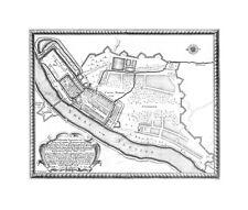 Antica mappa, ARCIS ET CIVITATIS marienburgensis …