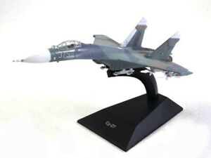 Su-27 Sukhoi Soviet Twin-engine Fighter 1984 Year 1/160 Scale Model Aircraft