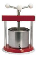 torchio torchietto premitutto da 1,5 lt cestello in acciaio cm 33 uso alimentare