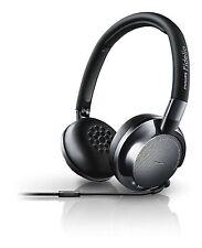 Philips Fidelio NC1 Cuffie con Noise Cancelling, Nero/Argento