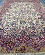 "Antik tolle seltene persische Kirman LAVAR/BAM Teppich 9' 10"" x 16'"