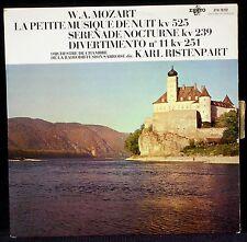 Mozart Sérénades 239 & 525 Div°11 Ristenpart STU 70232 blue/white LP NM, CV NM-