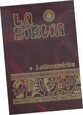LA BIBLIA LATINOAMERICA CATÓLICA ED. PASTORAL DE BOLSILLO, CAFÉ, EN ESPAÑOL