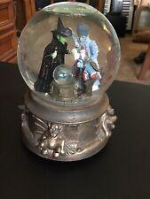 Wizard Of Oz Water Globe 1997 Wicked Witch