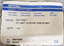 D41/10SET REPLACEMENT LEADS WITH 10 OHM RESISTANCE, KENDALL, MW10538
