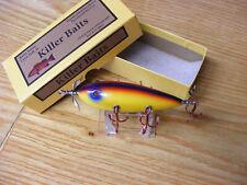 Killer Baits Rusty Jessee Heddon 300 Style Glasseye 5 Hooker in Rainbow Scale