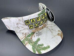 Waffle House Visor - Rare White Camo!  New with Tags