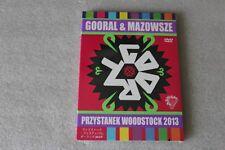 Gooral & Mazowsze - Przystanek Woodstock 2013 DVD - POLISH RELEASE